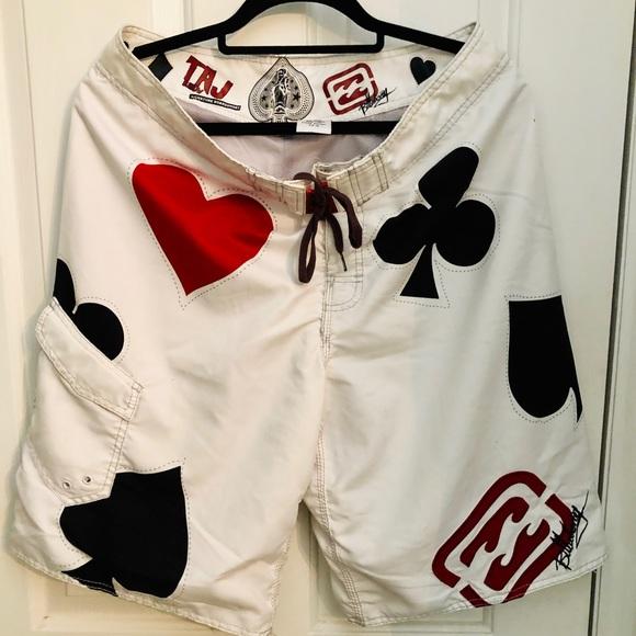 Billabong board shorts. Taj signature design.